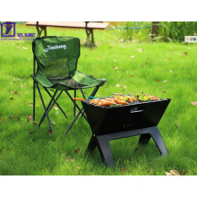Camping bbq grill portable Folding X Shape Barbecue Smoker Grill