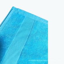 100% Cotton Jacquard Dobby Border Woven Hotel Travel Bath Beach Towel