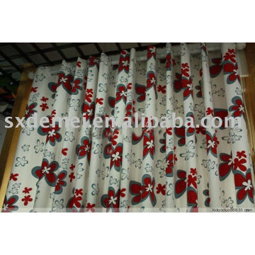 more than 5 hundreds cotton canvas printed curtain