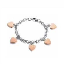 Neues Design-Herz-Charme-Armband-Schmucksachen, Edelstahl-Schmuck-Fuß-Ketten-Fußkettchen