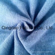 Algodão de cânhamo / algodão orgânico tecido único (QF13-0346)