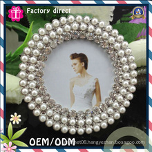 Oval Pearl Design 6X10 Inch Picture Frame
