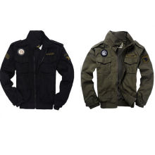 Männer USA Armee Luftwaffe Stilvolle Militärjacke Bomber Mantel