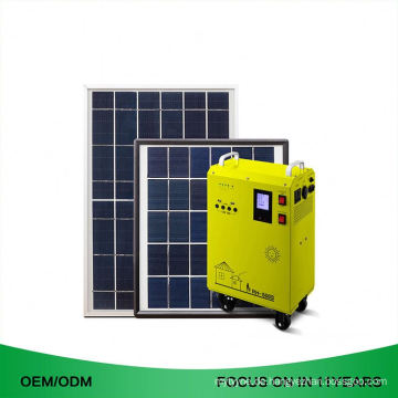 Professioneller tragbarer guter Preis weg vom Mini-Solarhauptsystem des Gitter-1000W