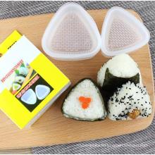 4PCS/Set DIY Sushi Mold Onigiri Rice Ball Food Press Triangular Sushi Maker Mold Sushi Kit Japanese Kitchen Bento Accessories