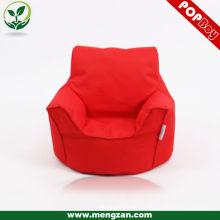 La tela de algodón embroma la silla acogedora del bolso del grano