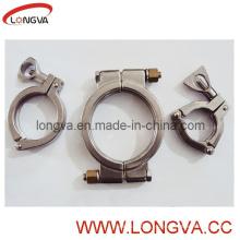 304 Abrazadera de alta presión del acero inoxidable (abrazadera del trébol)