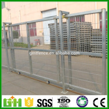 GM best price powder coated modern iron house sliding gate design for homes