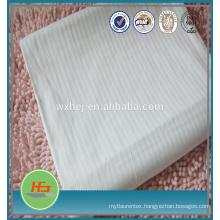 100% polyestesr microfiber hotel white cheapest flat sheets