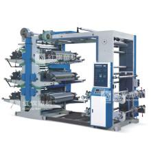 Machine d'impression offset à six couleurs