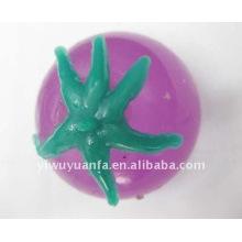 Bolas de Splat de tomate púrpura