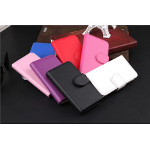 Libro estilo Flip cartera estuche de cuero para el iPhone 5s 5
