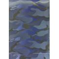 Tecido de poliéster jacquard de camuflagem com revestimento de PVC