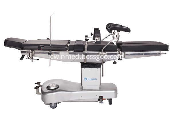 Manual operating table