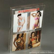 Paquet d'impression en plastique d'OEM pour la lingerie sexy (boîte de PET)