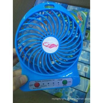 Promocional recarregável portátil mini ventilador mini ar condicionado