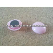 Пластиковая магнитная кнопка, магнит с пластиковым покрытием, круглая магнитная кнопка, аксессуары для доски, 20 мм XD-PJ201-2