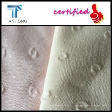 Ткани хлопчатобумажные жаккардовые / золотая отделка белым дамасской/мягкий тип жаккард