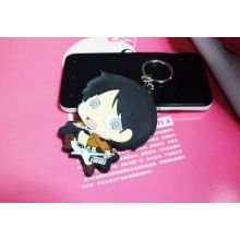 Hot Sale Custom Soft Silicone Rubber Keyrings