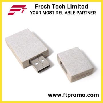 Lecteur flash USB en papier recyclé OEM (D834)