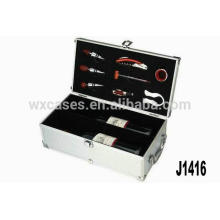 New arrival!!high quality aluminum wine carrier manufacturer