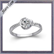 Estilo de moda 925 Steling anillo de plata