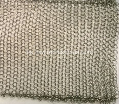 Acero inoxidable malla Chainmail