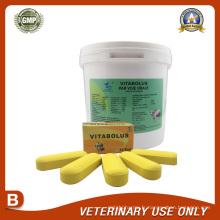 Médicaments vétérinaires de bolus multivitamines 18g