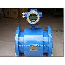 Medidor de fluxo magnético da água de Digitas, medidor de fluxo eletromagnético
