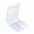 6 Cavity Clear Wax Melt Mould Plastic Box