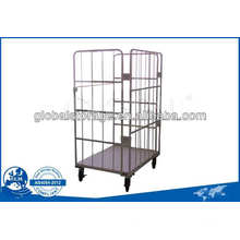 Powder CoatedWarehouse Storage Equipment Roll Cages