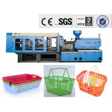 Plastikkorb, der Maschine herstellt
