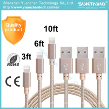 Cable de carga de datos USB de alta calidad para iPhone 6 6s