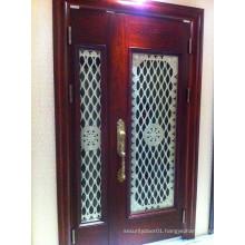 2 Pieces Elegant Interior Exterior American Panel Door
