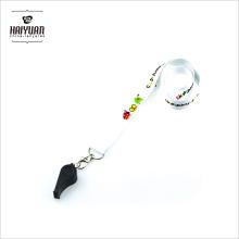 Cordon de sifflet personnalisé à prix bon marché avec haute qualité à vendre Lanyard