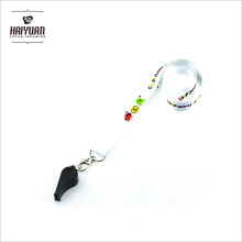Cheap Price Custom Whistle Lanyard with High Quality for Sale Lanyard