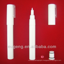 Plastic cosmetic packaging for nail art pencil