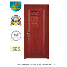 Simple Style MDF Door with Carving for Room (xcl-843)