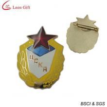 Placa de oro de la policía de esmalte duro para el recuerdo (LM1756)