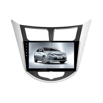 Yessun navegación del GPS del coche de 9 pulgadas HD para Hyundai Verna (HD9021)