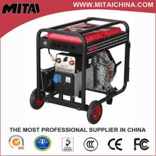 190A MMA soldador alimentado por motor a gasolina