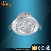 O brilho alto 1440lm 18 * 1W nivelou a luz de teto montada do diodo emissor de luz