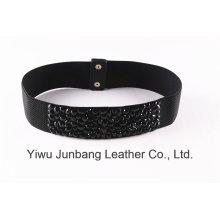 Cinto de strass elástico de moda feminina - Jbe1616