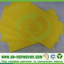 Tecido pré-fabricado Spunbond não tecido de pano de mesa