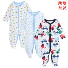 Fabrik liefern weiche Baumwolle Baby Strampler Langarm komfortable Winter Baby Overall für Jungen
