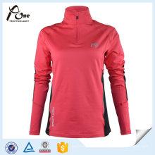 Kundenspezifische Sport-Abnutzungs-Frauen-Polo-Hemden mit langer Hülse