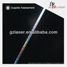 Neues Design Hologramm Reißband für Kleidungsstück Aufkleber