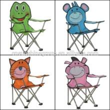 дети, складной стул животных Бич