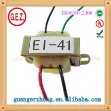Transformador de potencia laminado RoHS CQC 4.0w-7.0w ei 41 ei