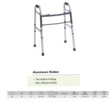 Walker pliant à deux boutons